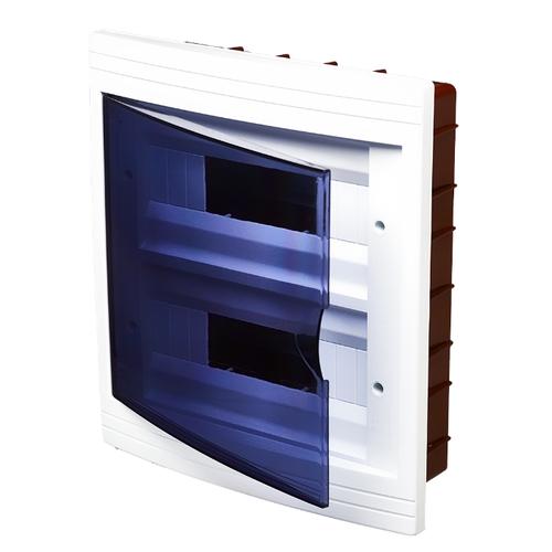 Щит распределительный RUCELF встраиваемый, модулей: 24 ЩРВ-П-24 белыйЩиты и шкафы<br>
