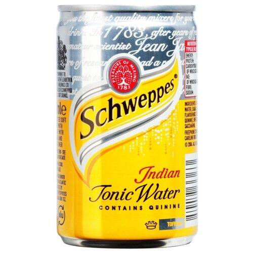 Тоник Schweppes Indian Tonic, 0.15 л schweppes индиан тоник напиток сильногазированный 1 5 л