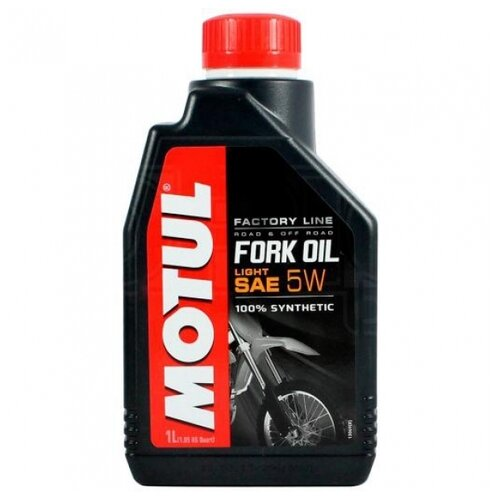 Вилочное масло Motul Fork Oil Factory Line Light 5W 1 л