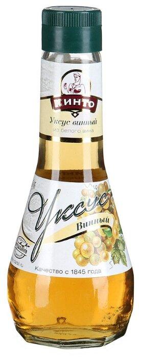 Уксус КИНТО Винный из белого вина 6% 250 мл