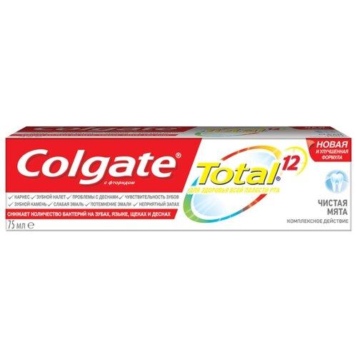 Зубная паста Colgate Total 12 Чистая Мята 75 млЗубная паста<br>