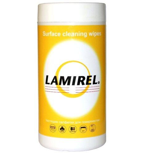 Lamirel Surface Cleaning Wipes влажные салфетки 100 шт. для оргтехники, для клавиатуры