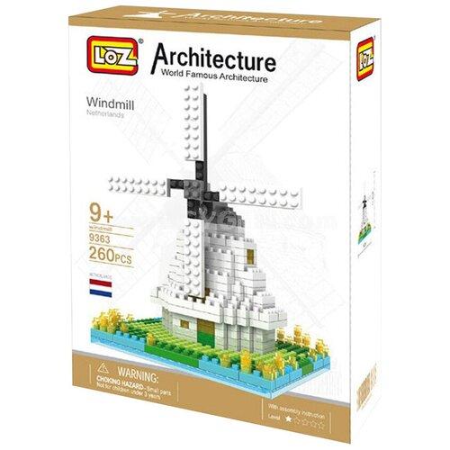 Фото - Конструктор LOZ Architecture 9363 Ветряная мельница конструктор loz brickheadz 1451 винни пух