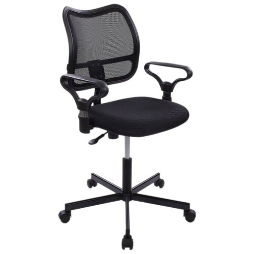 Компьютерное кресло Бюрократ CH-799M офисное, обивка: текстиль, цвет: черный TW-11