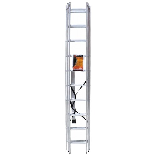 Лестница трансформер 3-секционная ВИХРЬ ЛА 3х10 лестница трехсекционная вихрь ла 3х12