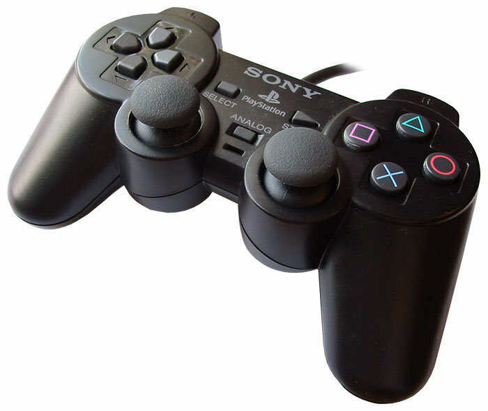 Геймпад Sony DualShock 2 Black PS2