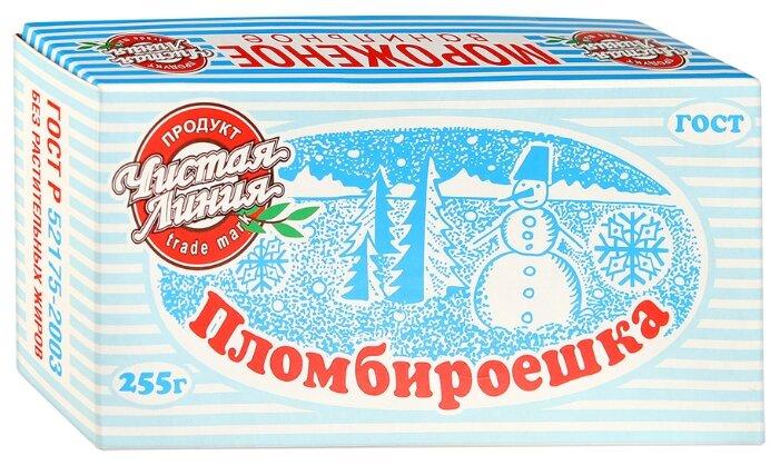 Мороженое Чистая Линия пломбир Пломбироешка Ванильное 255 г