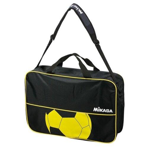 Сумка для мячей для гандбола Mikasa HD6C-BKY черный/желтый