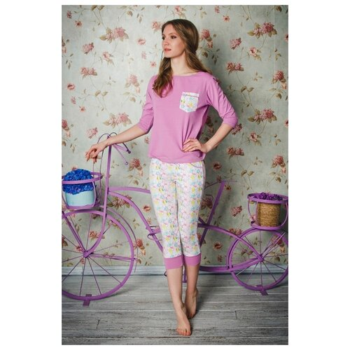 Пижама Evelena размер XS сиреневый платье oodji ultra цвет красный белый 14001071 13 46148 4512s размер xs 42 170