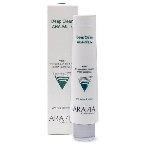 ARAVIA Professional Deep Clean Маска очищающая с глиной и AHA-кислотами для лица, 100 мл недорого