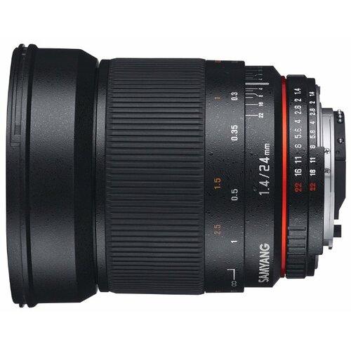 Фото - Объектив Samyang 24mm f/1.4 ED AS UMC Canon EF объектив samyang 50mm f 1 4 as umc canon ef