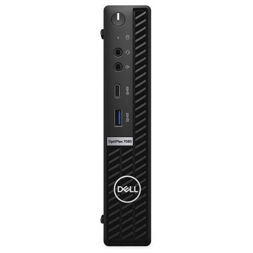 Настольный компьютер DELL Optiplex 7080 (7080-6901) Intel Core i7-10700/8 ГБ/256 ГБ SSD/Intel UHD Graphics 630/Windows 10 Pro черный компьютер