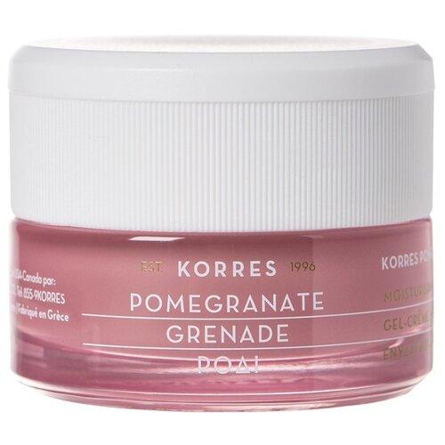 KORRES Pomegranate Moisturising Cream-Gel Увлажняющий крем-гель для лица для жирной и комбинированной кожи, 40 мл korres крем увлажняющий с соцветиями миндаля для жирной и комбинированной кожи 40 мл