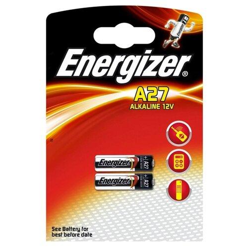 Батарейка Energizer A27 2 шт блистер батарейка energizer cr2032 2 шт блистер