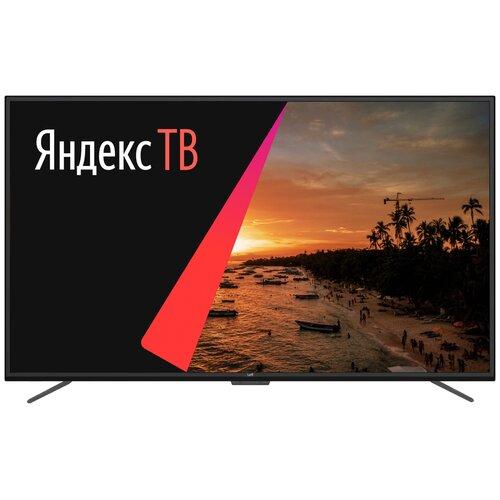 Фото - Телевизор Leff 65U620S 65 (2020) на платформе Яндекс.ТВ, черный телевизор leff 32h111t белый