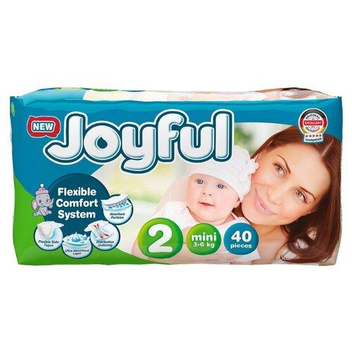 Купить Joyful подгузники 2 (3-6 кг) 40 шт., Подгузники