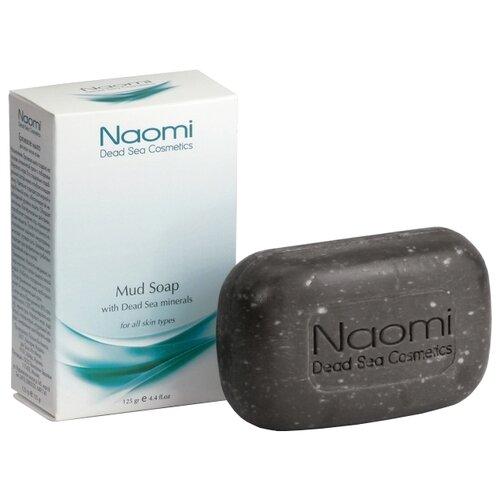 Купить Naomi Мыло кусковое Naomi с минералами Мертвого моря, грязевое, 125 г