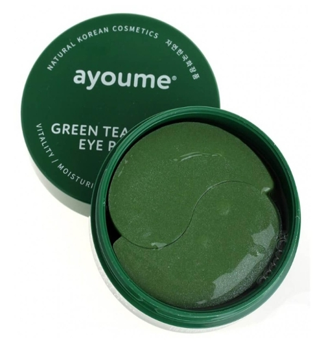 Ayoume Патчи для глаз Green Tea+Aloe Eye Patch