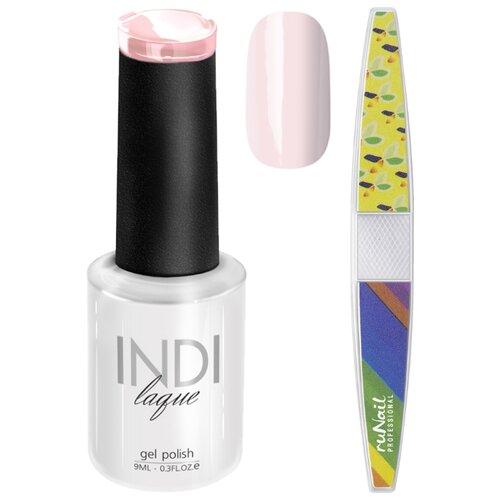 Набор для маникюра Runail пилка для ногтей и гель-лак INDI laque 3655Гель-лак<br>