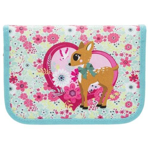 TIGER FAMILY Пенал с наполнением Сompact Collection Deer Fantasy (1820/G/TG) голубой/розовый сумка для такелажной оснастки tplus сompact t009383