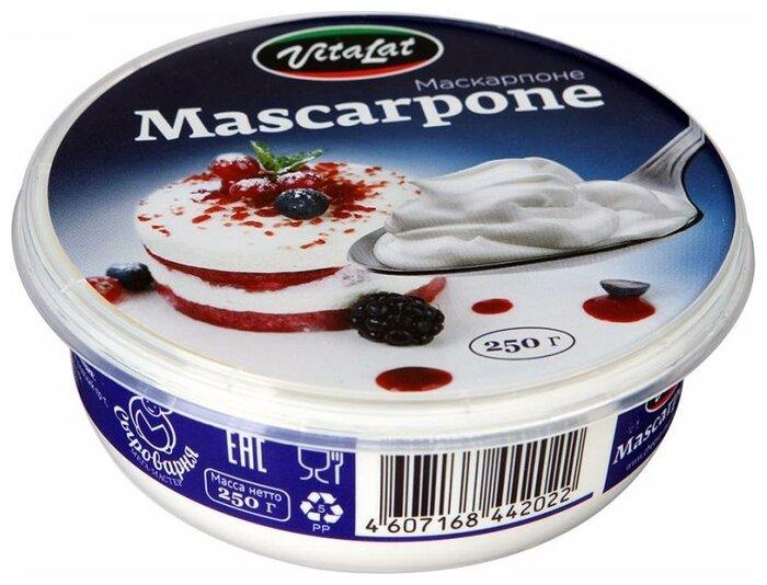 Сыр VitaLat творожный маскарпоне 80%