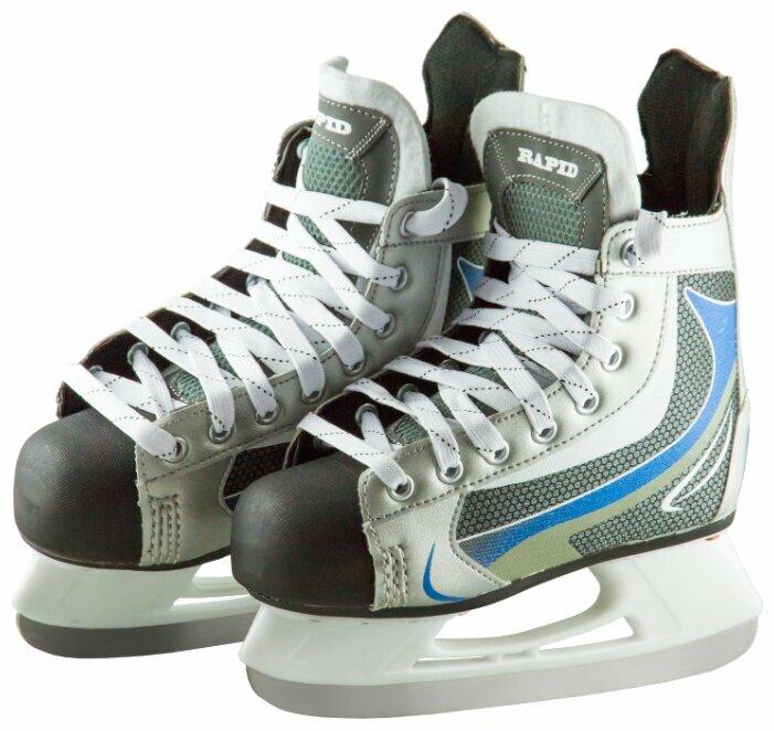 Хоккейные коньки ATEMI ASHK-17.06 Rapid Navy