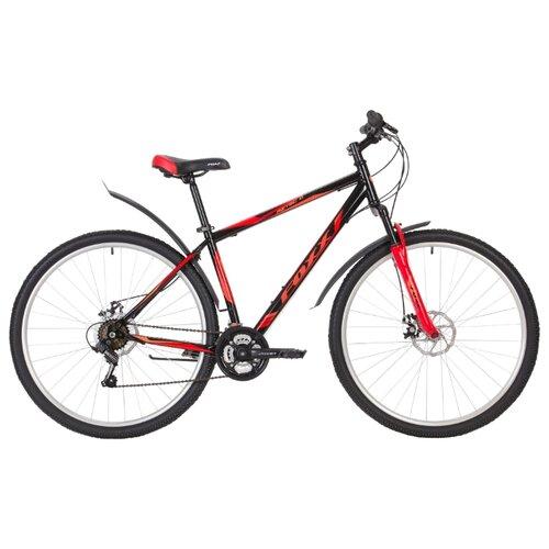 Горный (MTB) велосипед Foxx Aztec D 29 (2019) красный 20 (требует финальной сборки) горный mtb велосипед merida big seven 20 d 2020 silk medium blue silver yellow 17 требует финальной сборки
