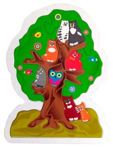 Рамка-вкладыш Прогресс Котики на дереве (0002137)