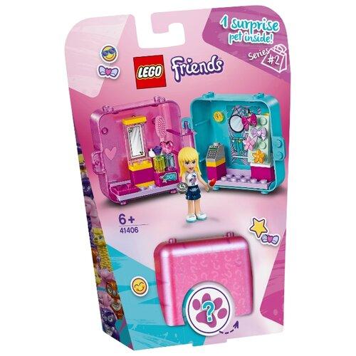 Конструктор LEGO Friends 41406 Игровая шкатулка Покупки Стефани lego friends 41354 шкатулка сердечко андреа конструктор