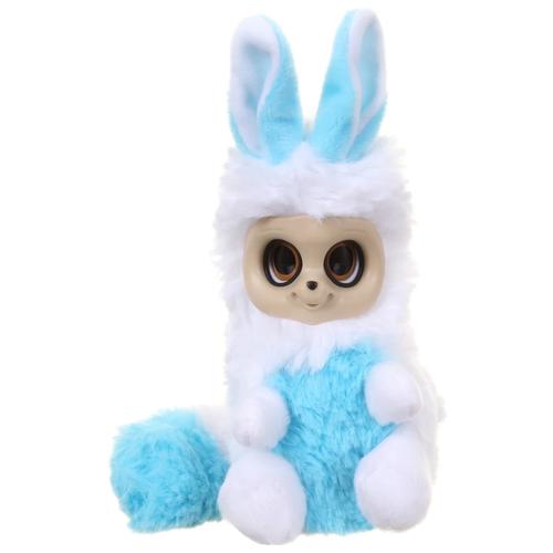 Мягкая игрушка Bush Baby World Пушастик Ниша бело-голубая 15 см