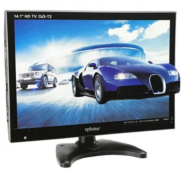 Eplutus EP-143T портативный цифровой DVB-T2 телевизор