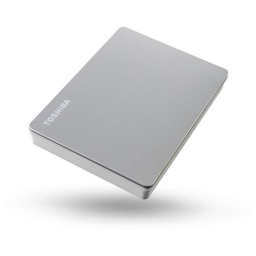 Фото - Внешний HDD Toshiba Canvio Flex 2 ТБ, серебристый внешний hdd toshiba canvio gaming 2 тб черный