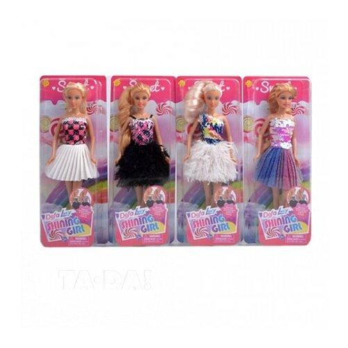 Купить Кукла Defa Lucy Блестящая, 29 см, 8434, Куклы и пупсы