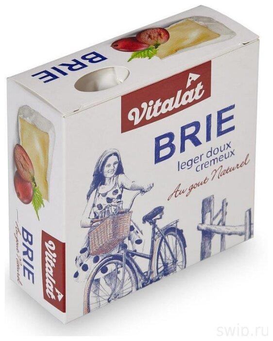 Сыр VitaLat мягкий бри с белой плесенью 60%