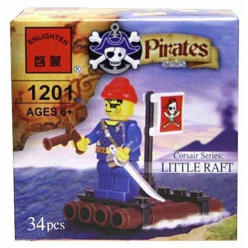 Конструктор Qman Pirates 1201 Плот