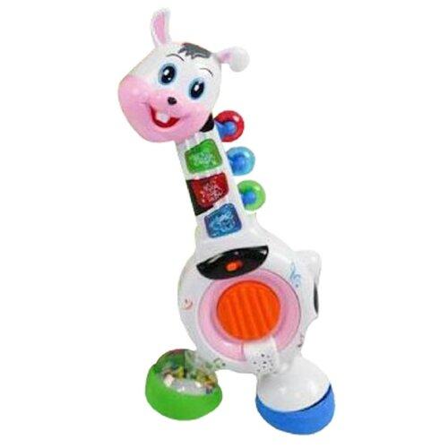 Наша игрушка пианино Зайка белый/синий/зеленый игрушка