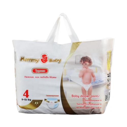 Купить Mommy Baby трусики 4 (9-15 кг) 42 шт., Подгузники