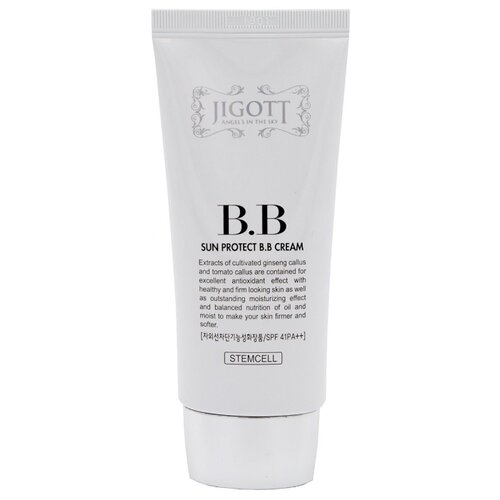 Jigott BB крем Sun Protect, SPF 41, 50 мл, оттенок: универсальный klapp bb крем cuvee prestige spf 8 30 мл оттенок универсальный