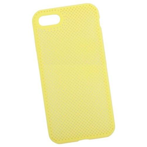 Чехол Liberty Project Silicone Dot Case для Apple iPhone 7/8 желтыйЧехлы<br>