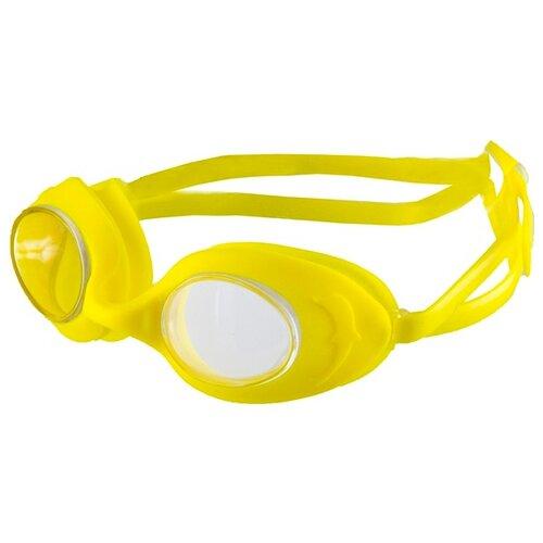Очки для плавания Atemi, дет, силикон (желтые), N7902