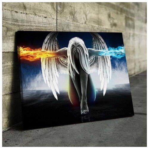 Картина Ангел 60х80 см. синтетический холст