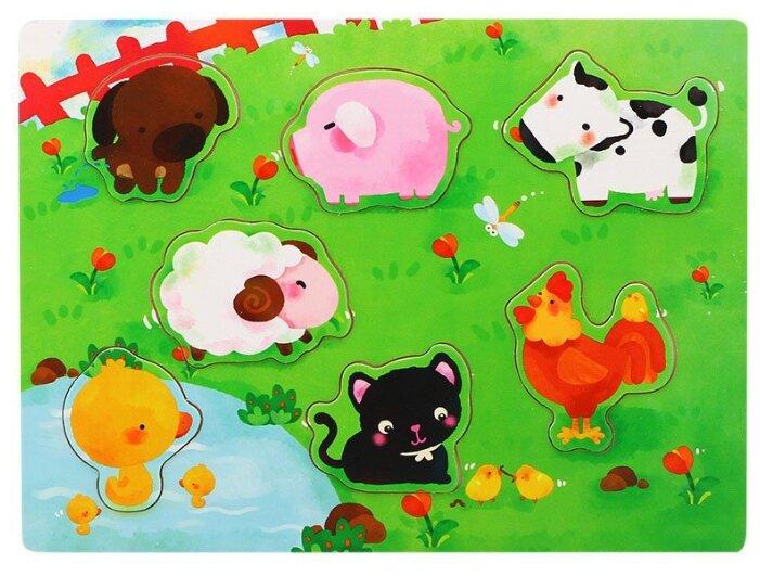 Рамка-вкладыш Benho Домашние животные (13011), 7 дет.