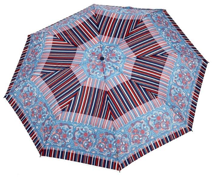 Зонт автомат Airton 3915 голубой/полоски