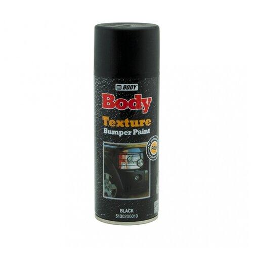 HB BODY аэрозольная автоэмаль Texture Bumper Paint 400 мл черный