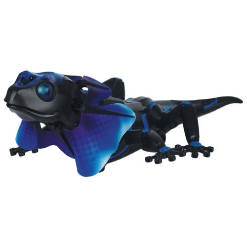 Купить Интерактивная игрушка робот 1 TOY Robo Pets Плащеносная ящерица черный/синий, Роботы и трансформеры