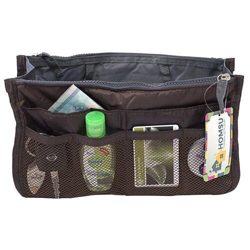 Органайзер для сумки HOMSU Chelsy, кофейный органайзер для сумки homsu цвет черный 28 x 8 x 16 см