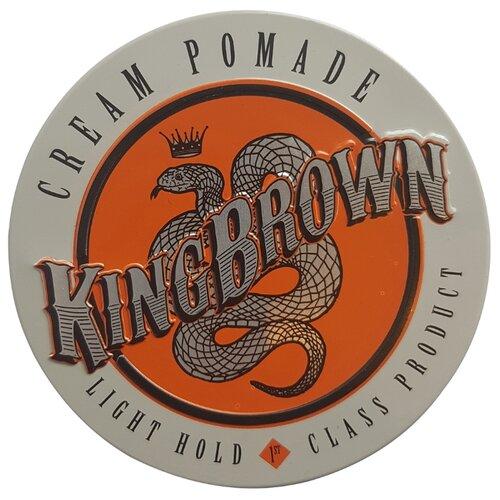 King Brown Помада Cream Pomade, слабая фиксация, 75 г