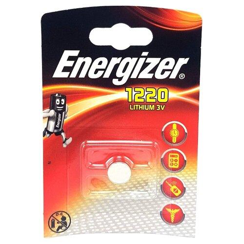 Фото - Батарейка Energizer CR1220 1 шт блистер rg512 g83011 204