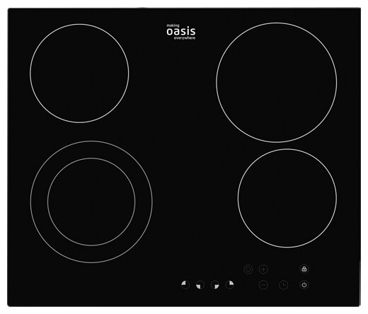 Электрическая варочная панель Oasis P-SB — купить по выгодной цене на Яндекс.Маркете