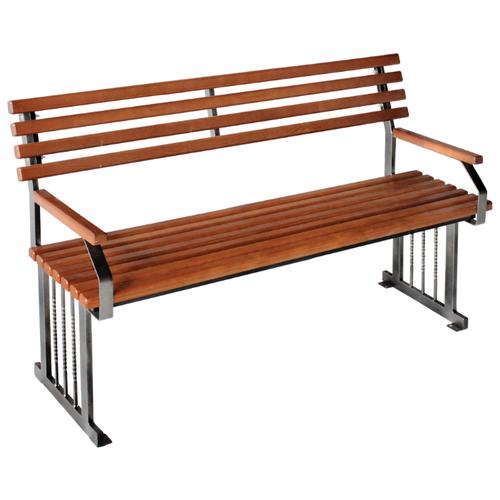 Скамейка Комплект-Агро Мадрид 1,6 (KA5528), коричневый